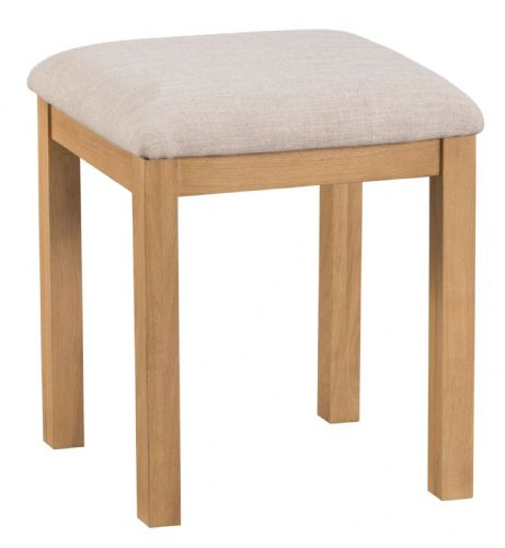 Cornish Oak Dressing Table Stool